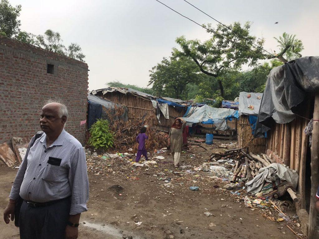Pak Hindu Refugee camp locality in Delhi