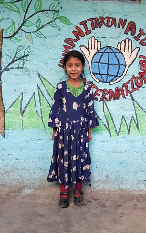 Naina Pak Hindu Refugee Child