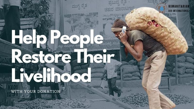 Help People Restore Their Livelihood