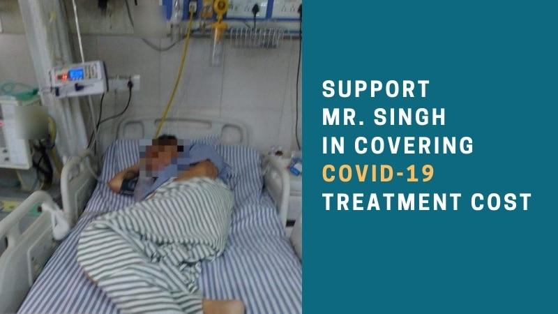 Mr Singh covid treatment campaign